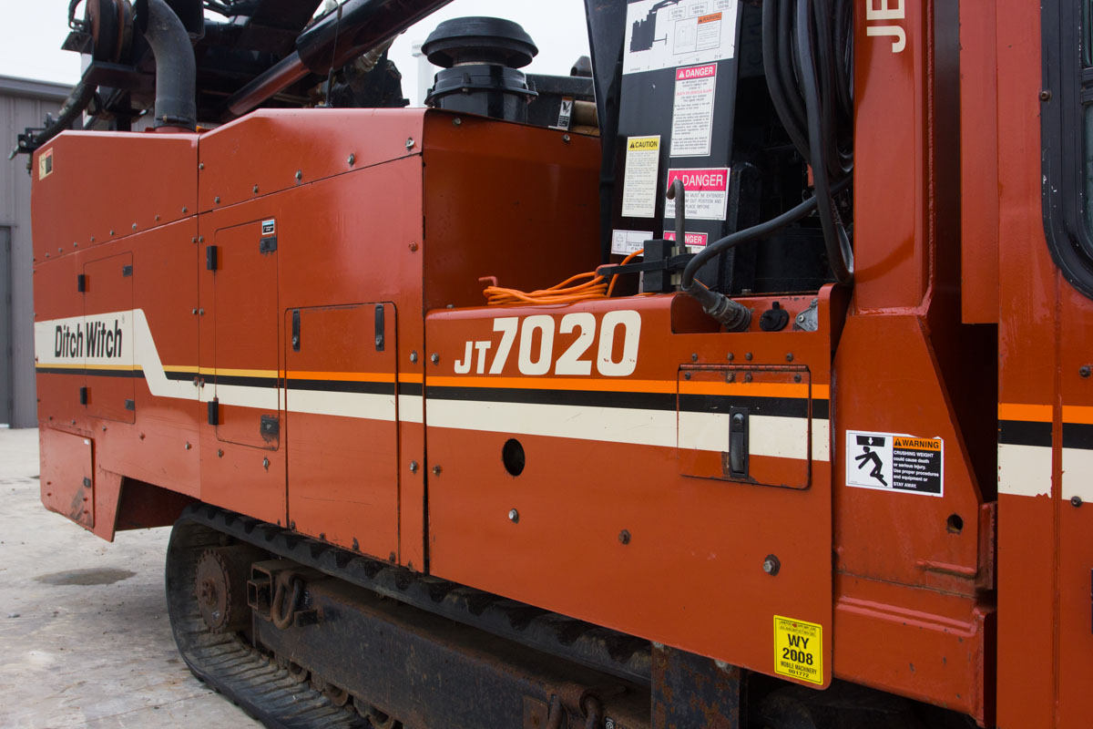 Used 2000 Ditch Witch Jt7020 Mach 1 For Sale