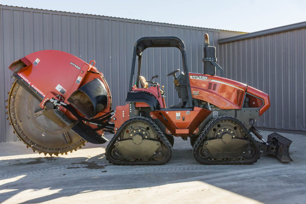 Ditch witch rt115 quad manual